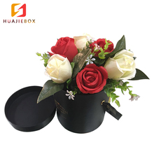 Cardboard Round Cylinder Hat Paper Tube Flower Packaging Gift Carton Box