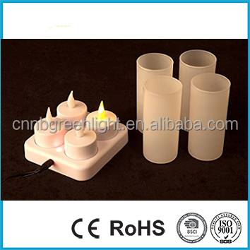 LED Flameless Rechargeable Tea Light Candles Wholesale