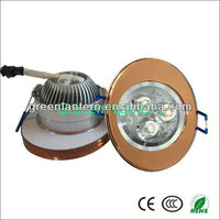 led ceiling downlight lamp light with crystal cover