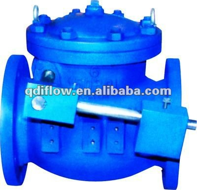 cast iron weighted check valves flange connection