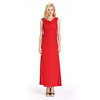 Woman Clothes Heaps Collar Red Fashion Dress Design