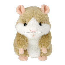 talking stuffed hamster mimicry pet toy hamster repeat plush toy