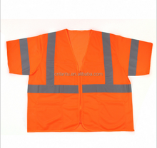 100% polyester short sleeve hi visibility <strong>safety</strong> t- shirt