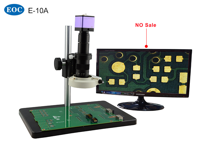 LED VGA electronic component video microscope for mobile phone
