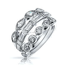 Gemnel Jewelry 925 sterling silver packing pall ring