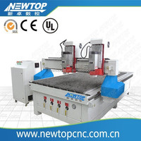 wood cnc router woodworking cutting engraving machinery price 1325 2 heads