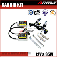 wholesale 55w h4 hi lo hid xenon bulb kit with 35w 23000v ballast for cars