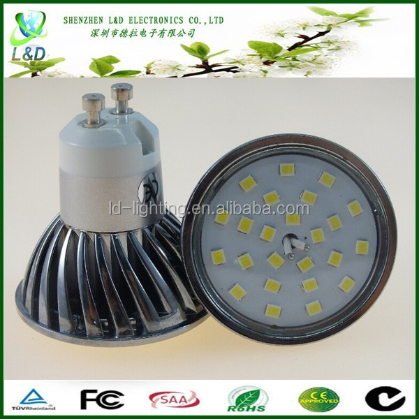 5W SMD Lighting LED Spotlight , GU10 LED Spotlight Price