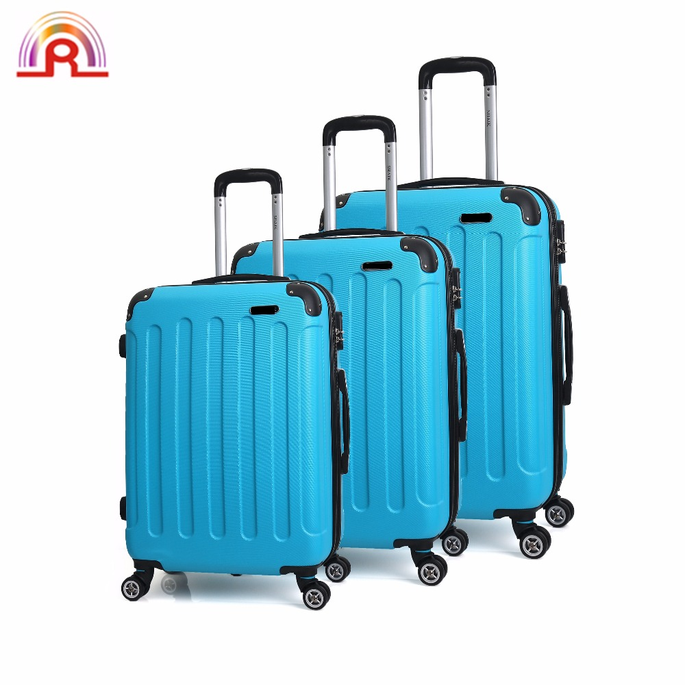 Popular Best Colorful ABS with PC travel house luggage trolley, travel trolley lugagge bag for sale, travel bag trolley luggage