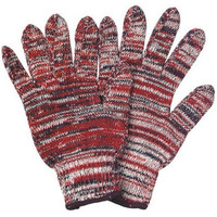 7 gauge colored cotton string knitted winter Insulated warmful working glove safety gloves