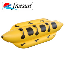 water games double tubes Inflatable banana boat flying fish boat