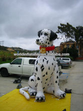 advertising big inflatable Dalmatian model