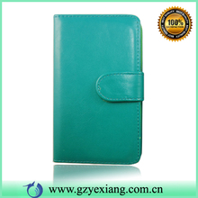 High Quality Solid Color Leather Flip Phone Case For Nokia Lumia 925