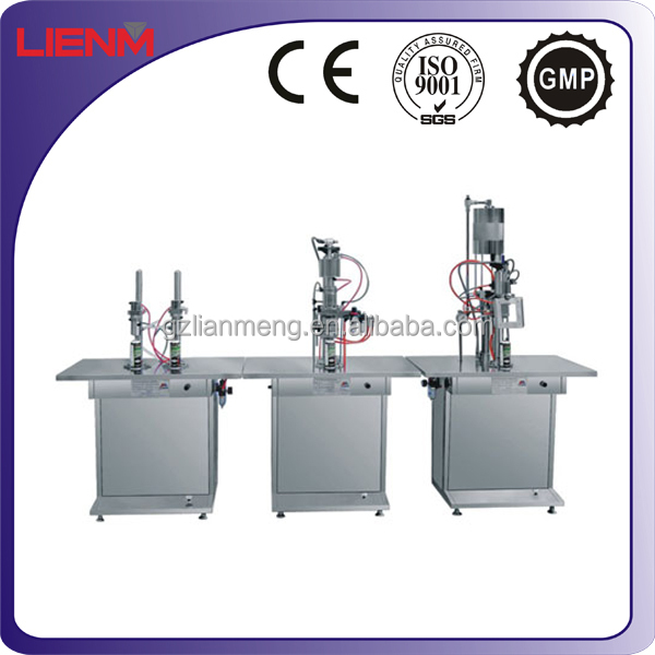 Stainless Steel Semi Auto Aersol Paint Spray Filling Machine