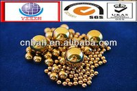 High quality latest 3.05mm brass copper balls in stock