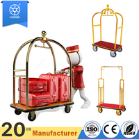 High End Stainless Steel Hotel Luggage