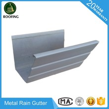 Hot selling rain gutter parts,aluminum water eave gutter with low price