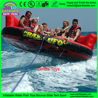 Inflatable Water Game Rental Inflatable Water Ski Tube Inflatable Towable Tube