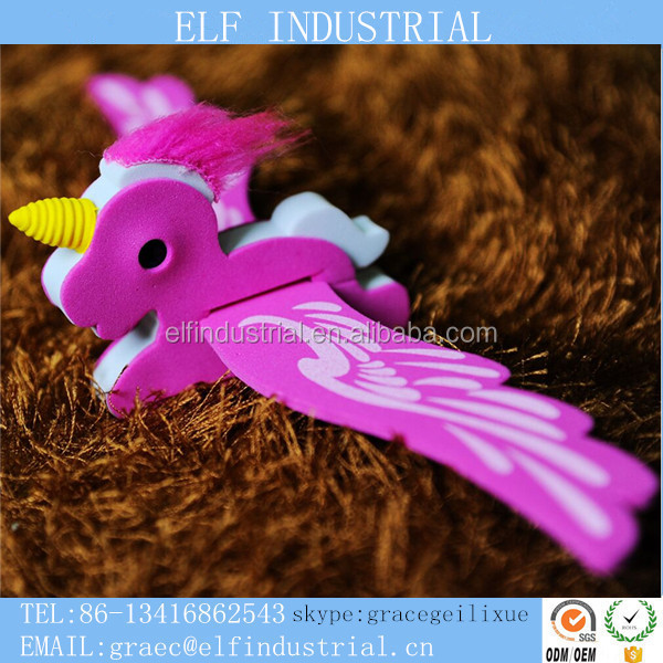 Chinese direct manufacturer party supplies flying fairy toy outdoor toys flying pony with flapping wings plastic unicorn toys