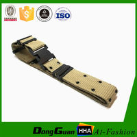 mens military canvas belt made of nylon webbing