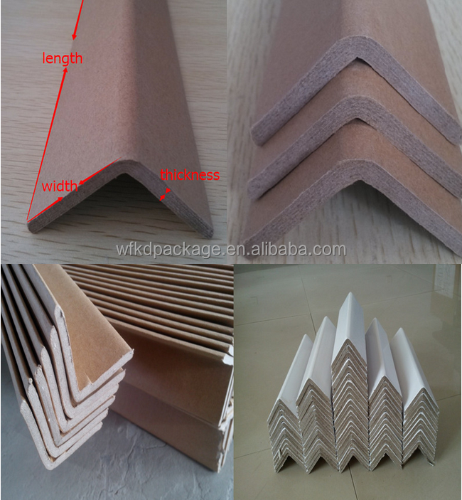 angle board for protection/shipping cardboard paper corner protector