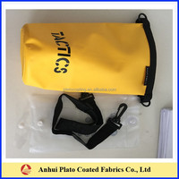High Quality PVC straps custom logo waterproof tarpaulin dry bag