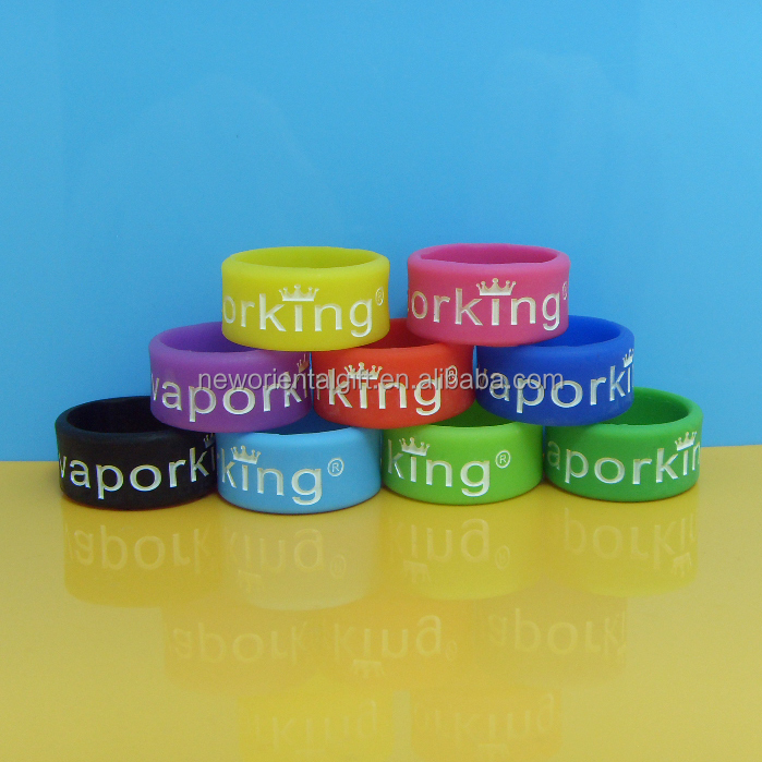 colorfull silicone wedding rings
