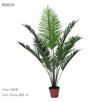 Chinese supplier wholesale tree centerpiece 3 trunks artificial palm tree