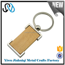 Wholesale high quality promotional custom wood keychain, keychain wood for gift