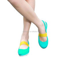 new design women small size soft sole plastic jelly shoes for women
