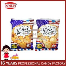 30g Caramel and Cream Flavor Popcorn Biscuits