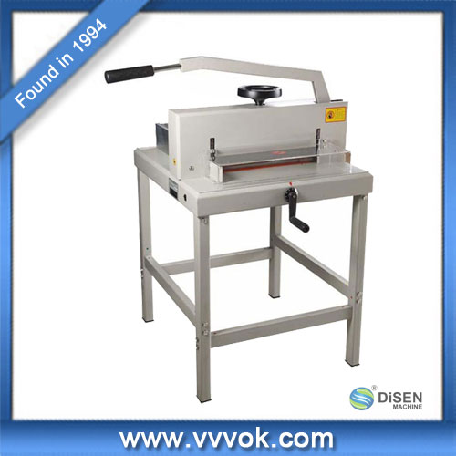 Manual guillotine paper cutter price