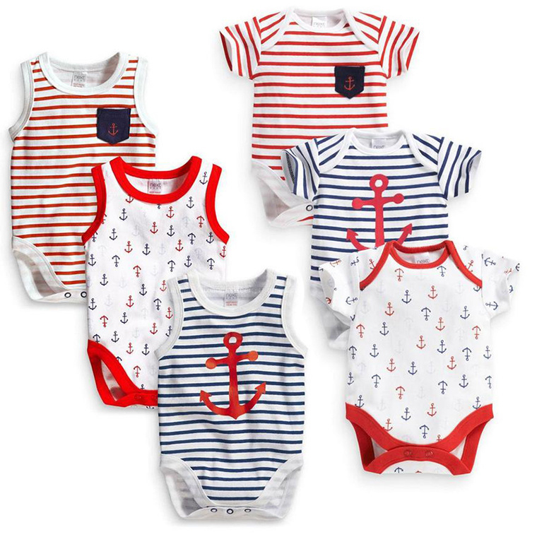 China Factory Cotton Infant Clothes Plain Baby Romper Wholesale
