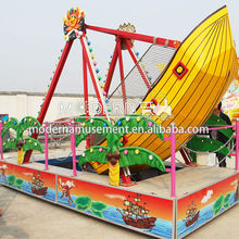 amusement park equipment kiddie ride pirate ship indoor palyground ride