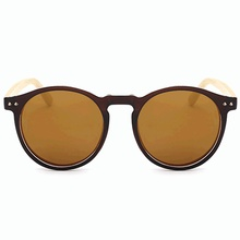 Fashion 2017 vintage women men city vision uv400 wood frame sunglasses <strong>bamboo</strong>