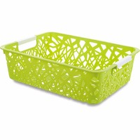 OEM New fashion pp wholesale fruit baskets