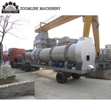 asphalt road equipment 80t/h mobile mini asphalt plant for sale