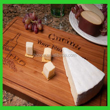 custom carved bamboo serving board/personized engraved bamboo cutting board
