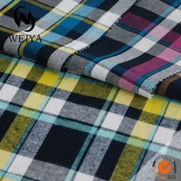 Cotton men's shirt fabric