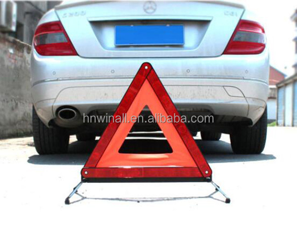 Car Triangle Accident Warning Signs