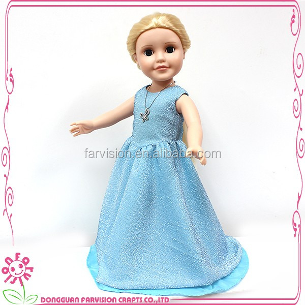 Latest 18 inch silicone vinyl interactive baby doll