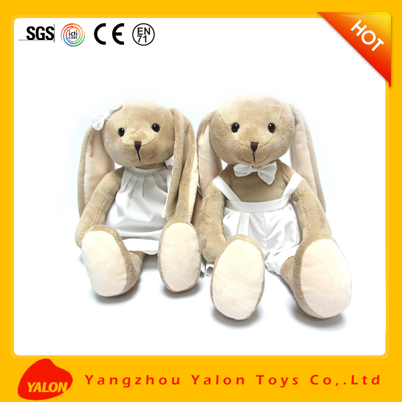 Customized soft fluffy rabbit toy