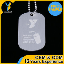 Factory Supplier custom cheap dog tag qr code metal OEM&ODM service