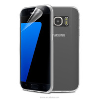 Transparent Clear Silicone Gel Mobile Phone Case Cover For Samsung Galaxy S7, For Samsung Galaxy S7 Back Case