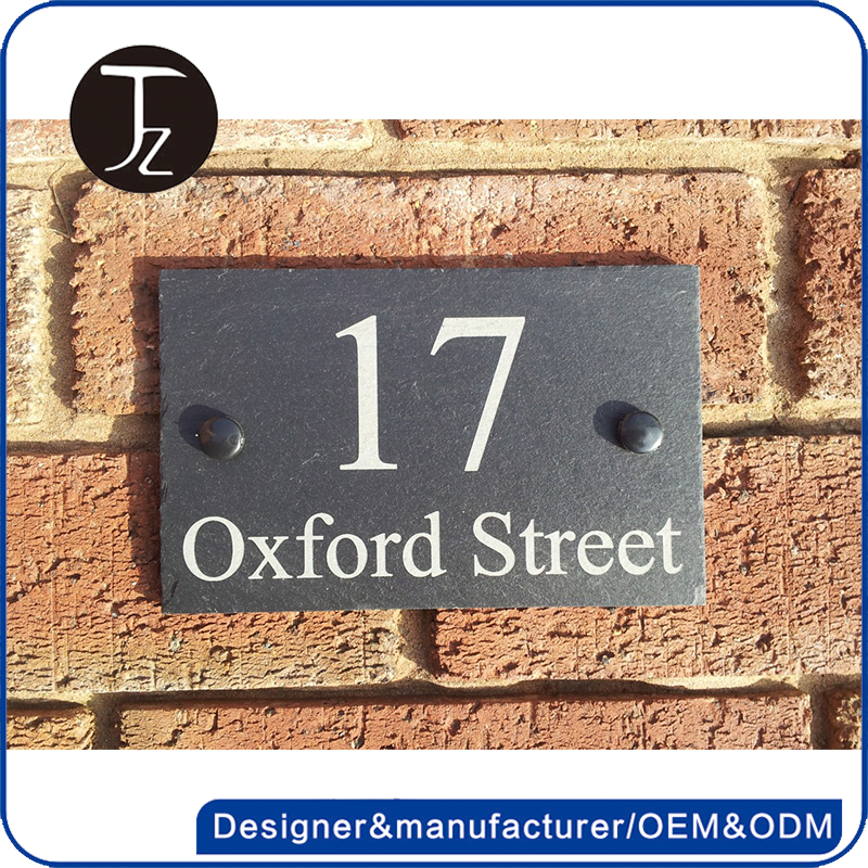 Customized metal house number sign /apartment door number/address sign