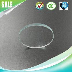 High light transmission 2mm 3mm 4mm 5mm 6mm tempered lighting glass covers