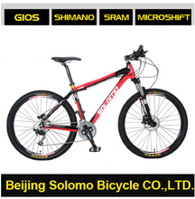 SOLOMO Red Rabbit D581 Aluminium Alloy Frame High-level Configuration 26 Inches 30 Speed MTB bike