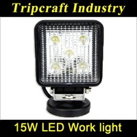 Highest Level Low Cost 15W Ip67 Working Light Spot Beam Led Bulbs Led Offroad Work Light For Suv