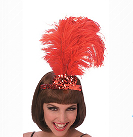 animal headband hat feather carnival brazilian headpieces with hat