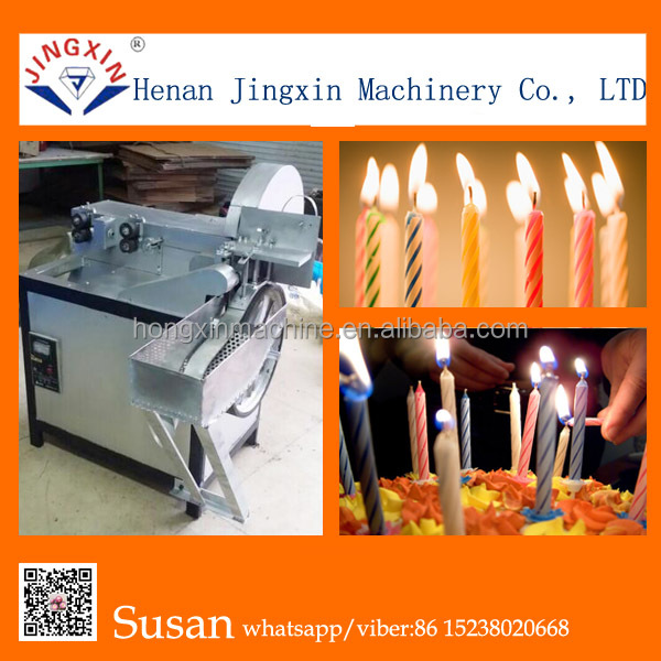 Machine for Birthday candle making